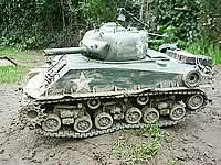M4 Sherman 1/16th RC Model Tank