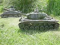 Pershing 1/16th RC Model Tank