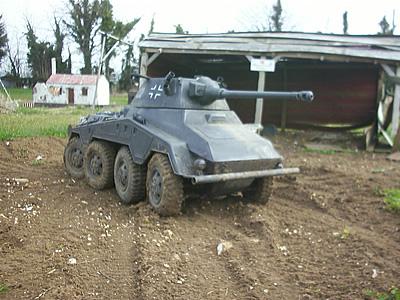 Radio Controlled Model Tanks - Puma Sd Kfz 234/2 1/6th scale
