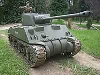 Sherman Firefly 1/6th RC Model Tank