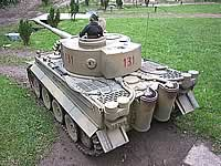 Bovington Replica Tiger 1 1/6th RC Model Tank