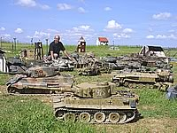 Mark and his RC Model Tanks
