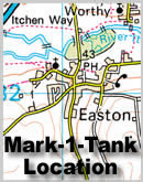 Map to Mark-1-Tank location