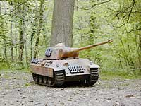 German Panther 1/8th RC Tank